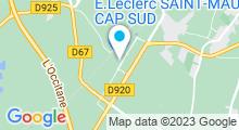 Plan Carte Spa urbain Passage Bleu à Saint-Maur