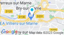 Plan Carte Spa urbain Passage Bleu à Bry-Sur-Marne
