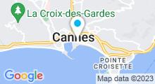 Plan Carte Spa Diane de l'Hôtel Barrière Le Majestic***** à Cannes