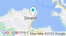 Plan Carte Spa du Grand Hôtel Barrière à Dinard