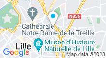 Plan Carte Spa de l'Hôtel Resort Barrière***** à Lille