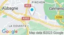 Plan Carte L'Atelier à Aubagne