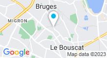 Plan Carte Aqualigne à Le Bouscat