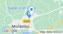Plan Carte Aqua-Cité à Mordelles