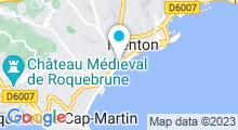 Plan Carte Prana Spa de l'Hôtel Riva à Menton