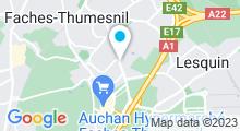 Plan Carte Spacium de Fâches-Thumesnil
