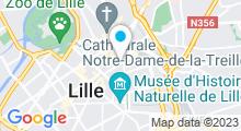 Plan Carte Spacium à Lille-Centre