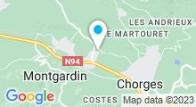Plan Carte Spa du Ax'Hôtel à Chorges