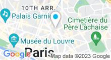 Plan Carte Spa Les Bains du Temple à Paris (10ème)