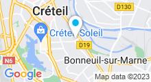 Plan Carte Les Bains de Kenza à Créteil