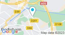 Plan Carte Salle de sport Wellmoov à Rixheim