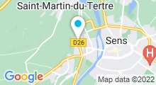 Plan Carte Dynamic Aqua à Saint-Martin-du-Tertre