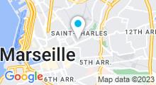Plan Carte Jade's Institut à Marseille