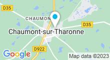 Plan Carte Spa Deep Nature à Chaumont-sur-Tharonne