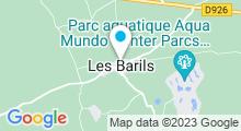 Plan Carte Spa Deep Nature du Domaine des Bois-Francs à Verneuil-sur-Avre