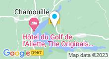 Plan Carte Spa Deep Nature du Domaine du Lac d'Ailette à Chamouille