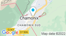 Plan Carte Spa Deep Nature de la Résidence la Ginabelle à Chamonix