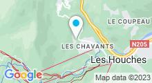 Plan Carte Spa Deep Nature Les Granges d'en Haut Chamonix aux Houches