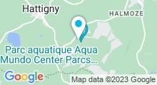 Plan Carte Spa Deep Nature du Domaine des Trois Forêts à Hattigny