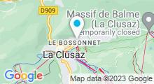 Plan Carte Spa Deep Nature de l'Hôtel le Chamois à La Clusaz
