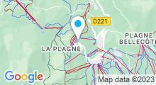 Plan Carte Spa Deep Nature Les Hauts Bois à Aime La Plagne