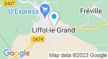 Plan Carte Spa Ecolors Beauté à Liffol-le-Grand