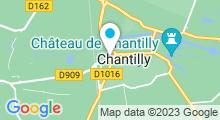 Plan Carte Institut Côté Cour à Chantilly