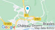 Plan Carte Spa Sensations à Château-Thierry