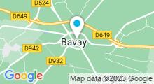 Plan Carte Hammam Zemara à Bavay