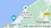 Plan Carte Spa de la Vieille Ferme à Criel sur Mer