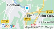 Plan Carte Spa de l'Hôtel Antares à Honfleur