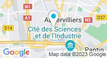 Plan Carte Salle de sport Forest Hill à Aubervilliers