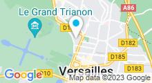Plan Carte Salle de sport Forest Hill à Versailles