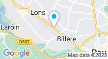 Plan Carte Swimcenter à Lons