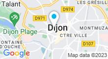 Plan Carte Spa Nuxe de l'Hôtel Vertigo à Dijon