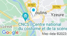 Plan Carte Defit's Moulins à Moulins
