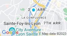 Plan Carte Salle de fitness Wellness Sport Club à Lyon (2e)