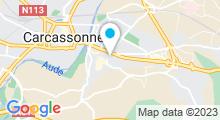 Plan Carte Spa Carita à Carcassonne