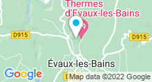 Plan Carte Thermes à Evaux-les-Bains