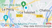 Plan Carte Natural Spa Institut au Vésinet