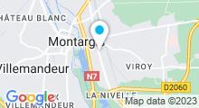 Plan Carte Spa Evasion à Montargis