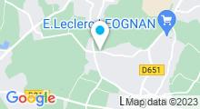 Plan Carte Espace aquatique Forméo à Léognan