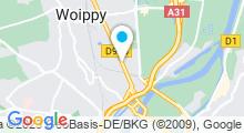 Plan Carte Forme'O à Woippy