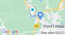 Plan Carte Ma Nouvelle Piscine à Plonéour-Lanvern