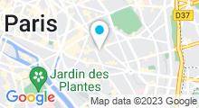 Plan Carte I Love My Popotin à Paris 11