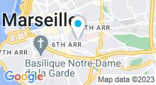 Plan Carte Phao La Bouée à Marseille