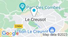 Plan Carte Galerie Françoise Naglieri au Creusot