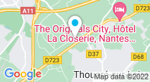 Plan Carte Swimcenter à Carquefou