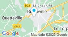 Plan Carte Arbor et Sens à Beuzeville