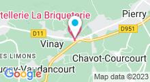 Plan Carte Spa de l'Hôtel la Briqueterie à Vinay en Champagne